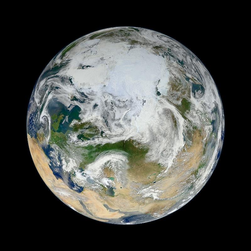 Магнитное поле Земли. Арктика.