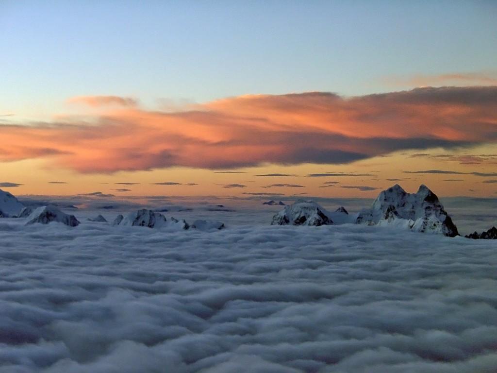 Семь самых высоких горных вершин шести континентов Земли