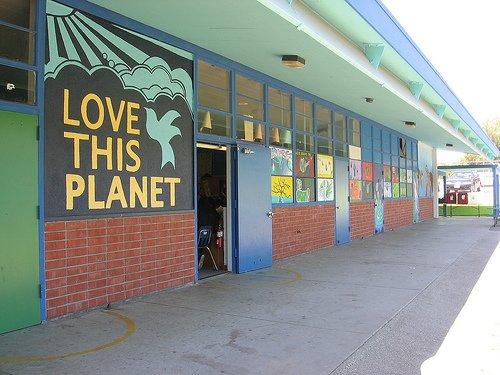 Открытие эко-школы «Greening»