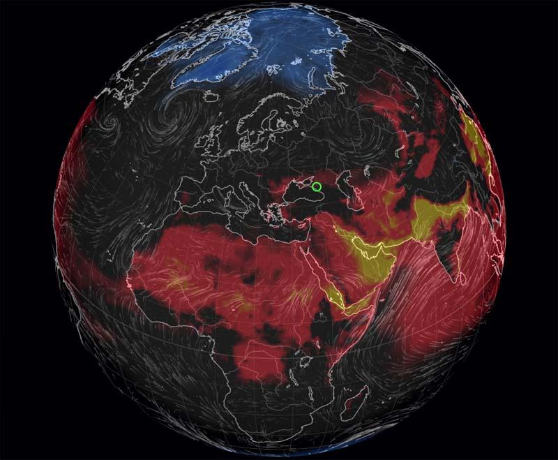 Ветро-холодовой индекс онлайн