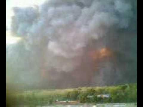 Свирепствующие лесные пожары