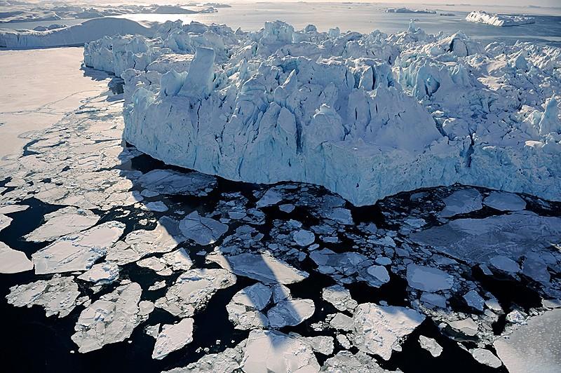 Гренландский ледник