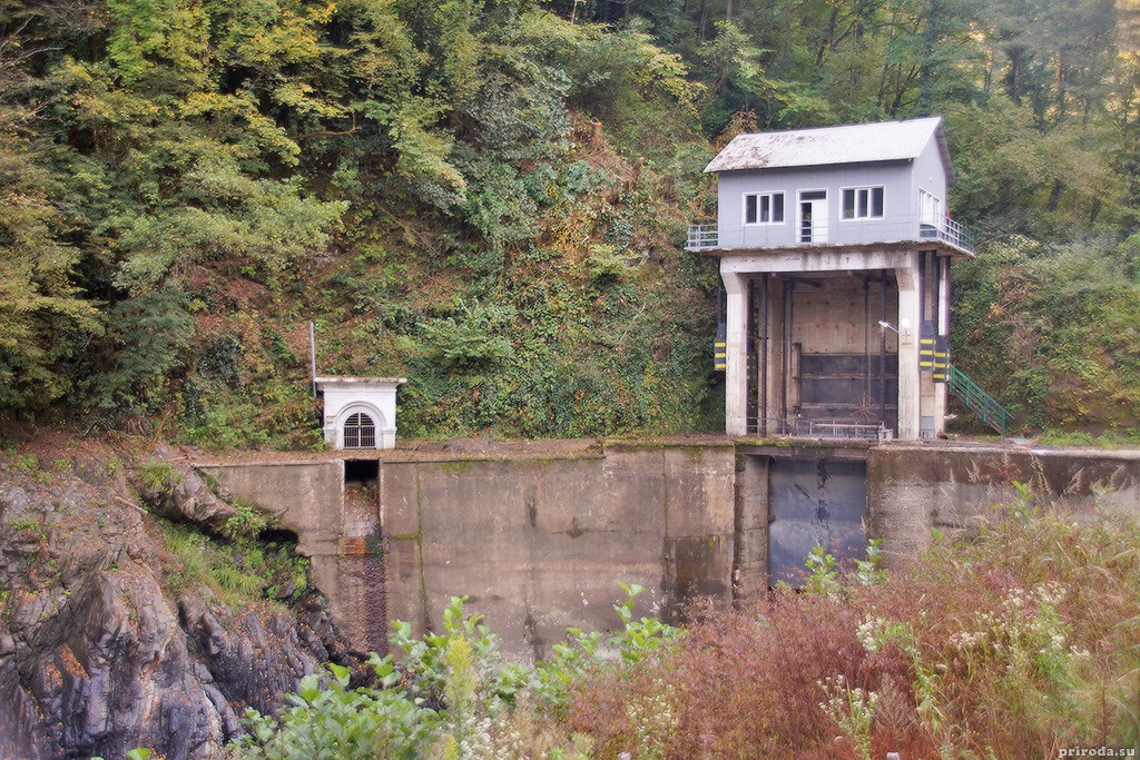 ГЭС на реке Гумиста (Абхазия)