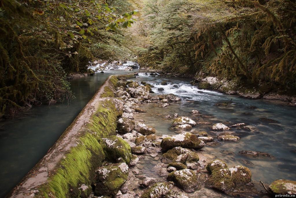 Абхазия: Чёрная речка