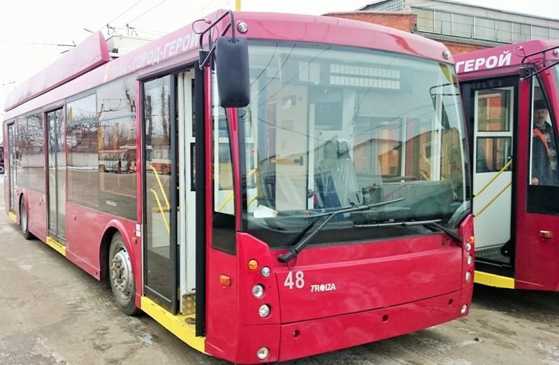 Электрический тролейбус