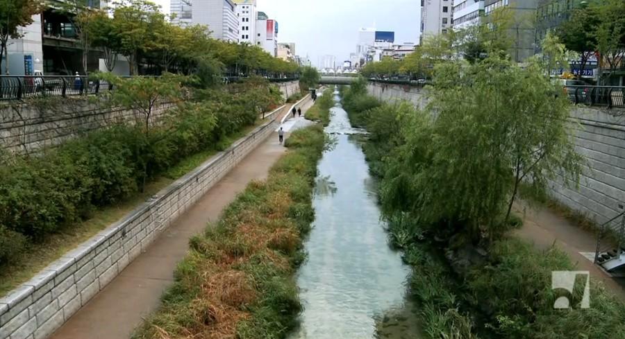 Освобождённая река Сеула