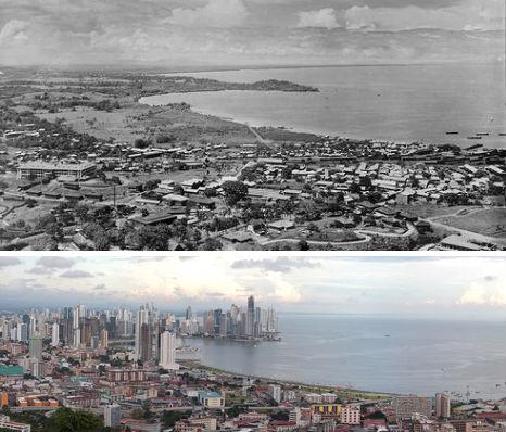 Города мира: тогда и сейчас