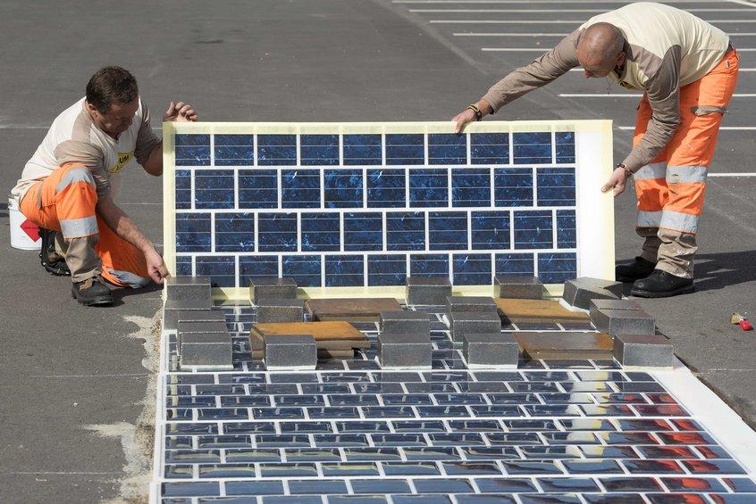 Во Франции появится автодорога из солнечных батарей протяжённостью 1000 км