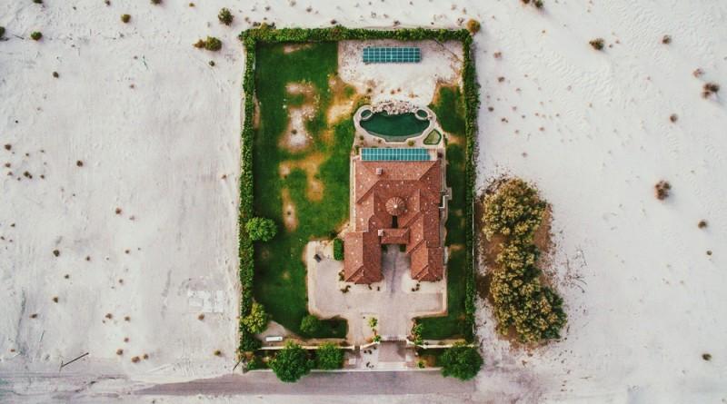Зелёный остров в пустыне Невады