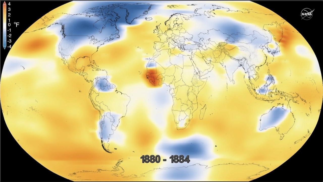 NASA: 2016 стал очередным рекордно-тёплым годом