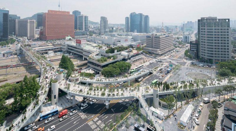 Парк вместо автобана в Сеуле