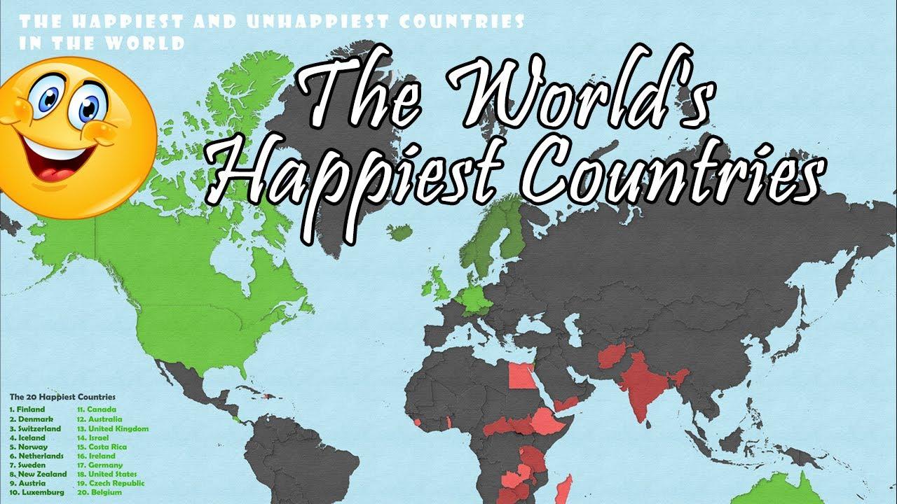 В поисках счастья: Самые счастливые страны мира