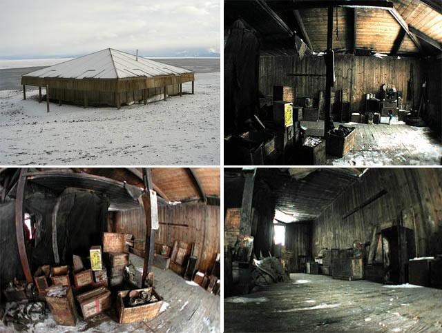 Антарктида - материк поселений-призраков