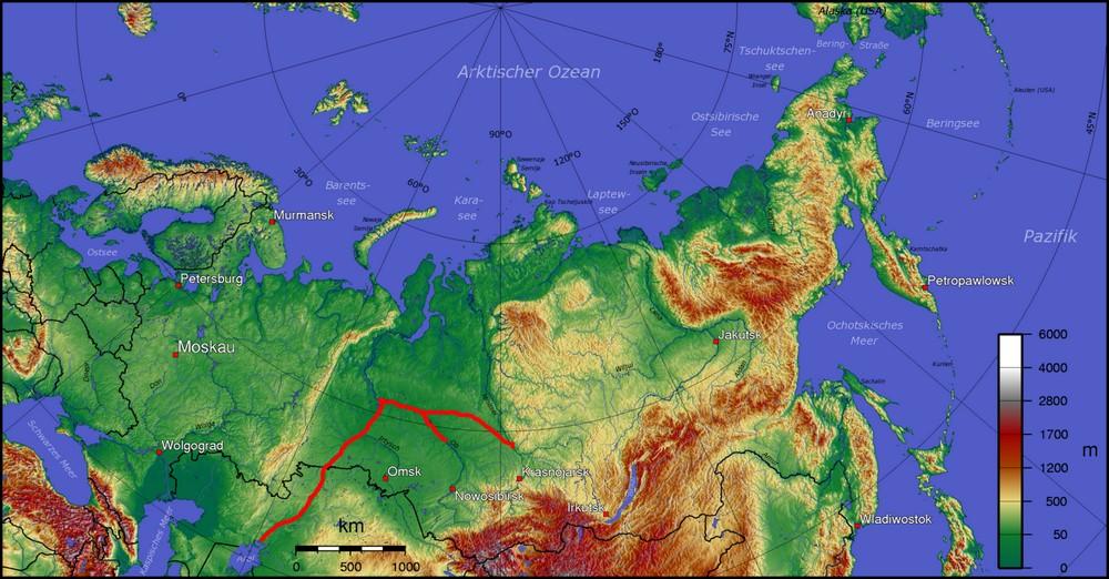 Все за и против переброски стока сибирских рек в Среднюю Азию