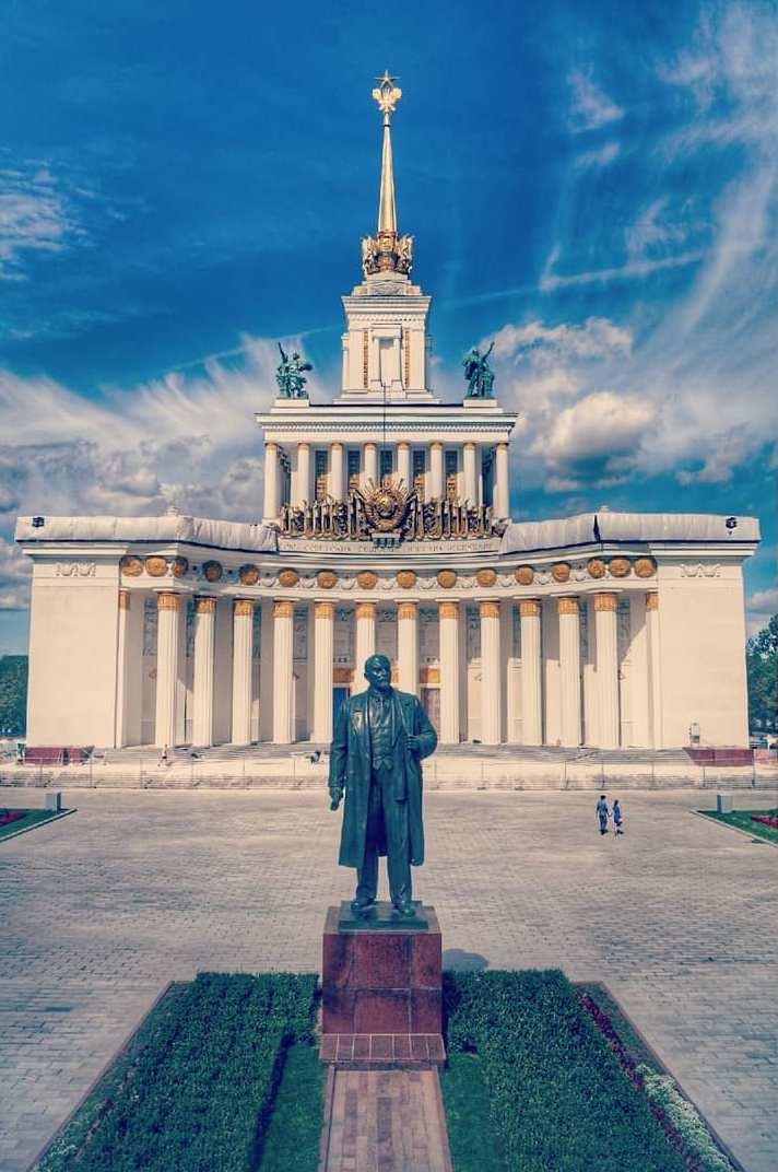 Памятник Ленину на ВДНХ