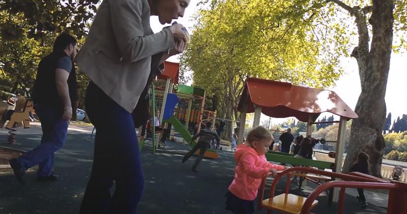 Детская площадка во время пандемии