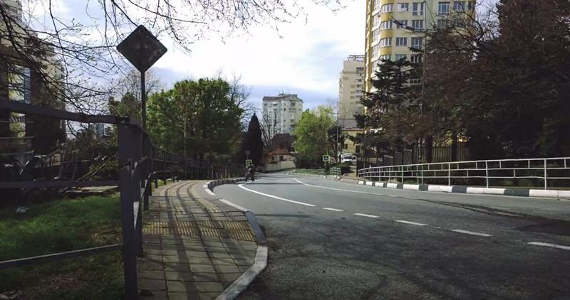 Виноградная улица во время пандемии